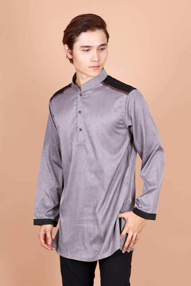 Kashfi Long Sleeve Button Mordern Kurta [M29101]