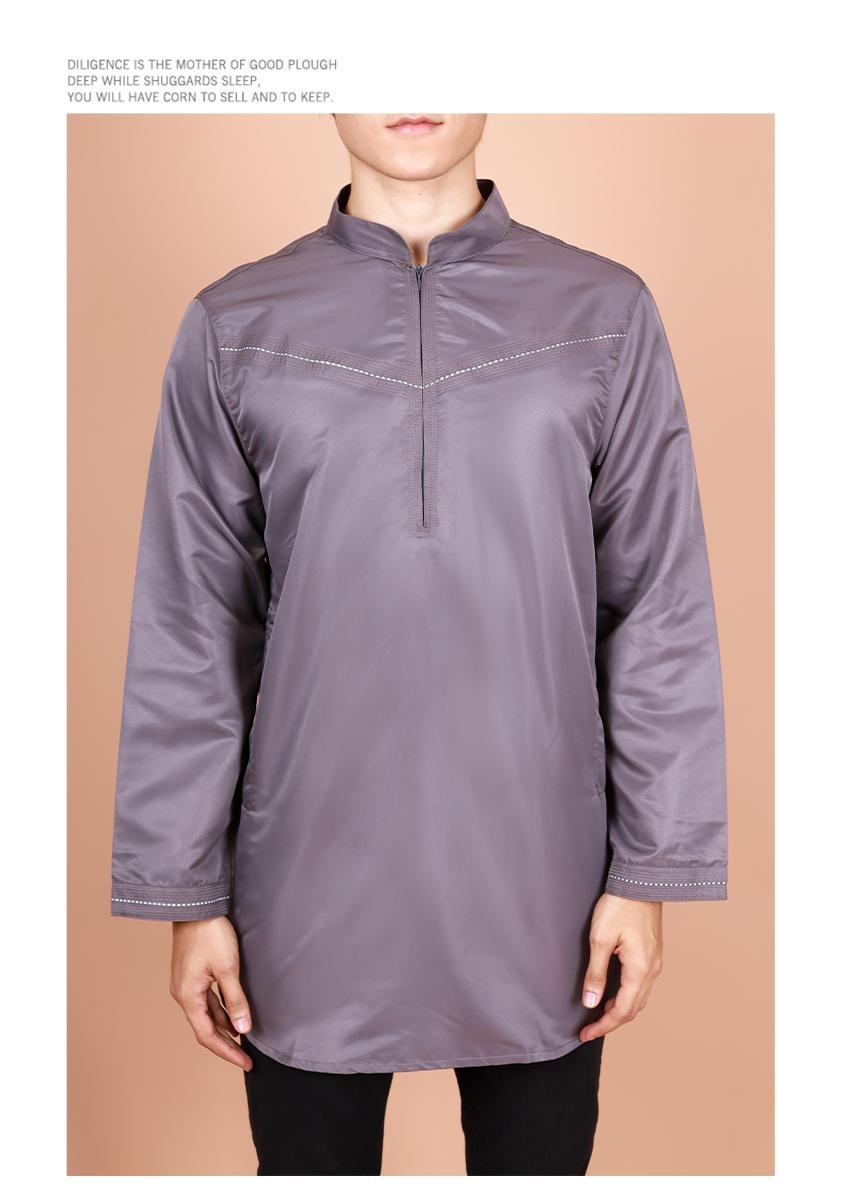 Faizan Long Sleeve Zipper Mordern Kurta [M29010]